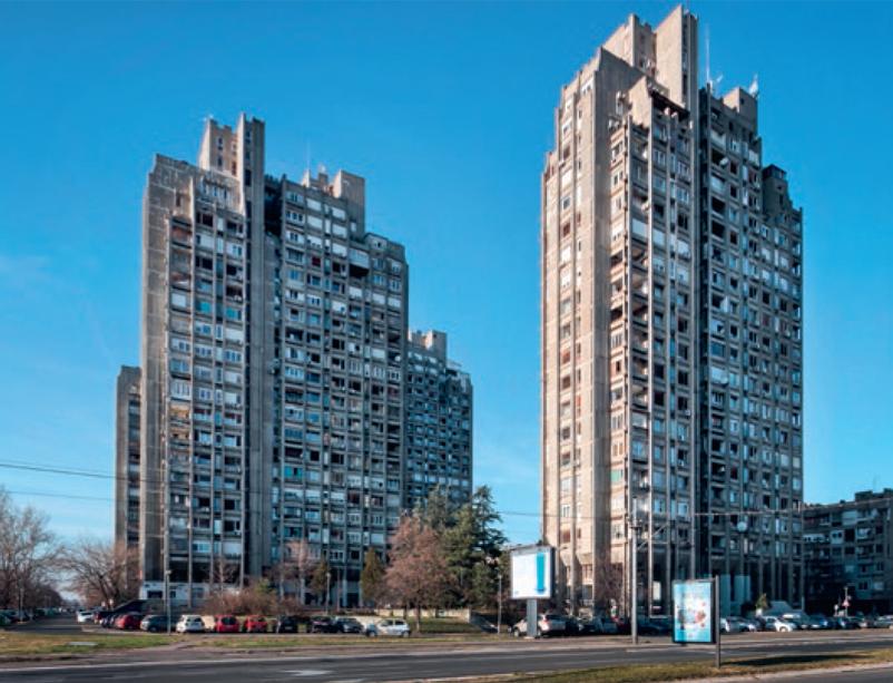stjepanovic - stambeni blokovi 22 i 23, novi beograd