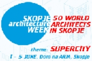 Skopje Architecture week 2011
