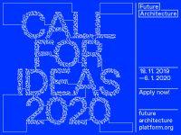 Konkurs Budućnost Arhitekture / Future Architecture 2020